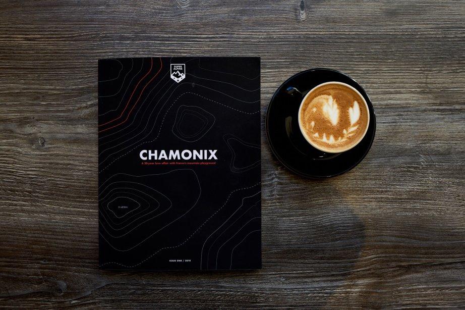 Super Alpine magazine Chamonix